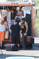Filming MAGIC MIKE XXL, 01.10.2014 - matt-bomer photo