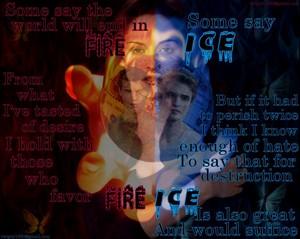 火災, 火 vs Ice