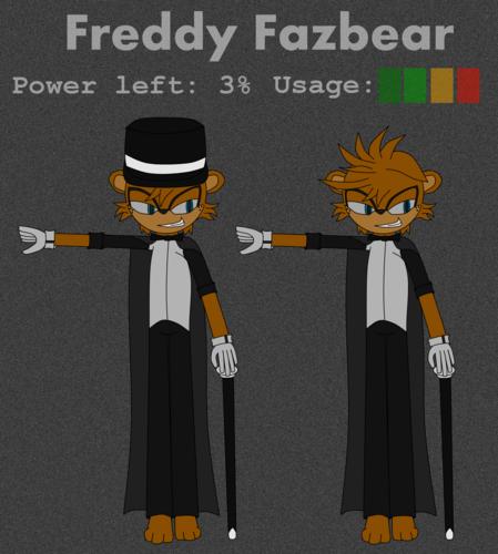 Sonic Fan Characters wallpaper titled Five Nights: Freddy