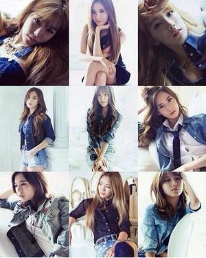 Girls Generation - The Best Album Concept
