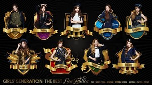 Girls Generation 「THE BEST ~New Edition~」