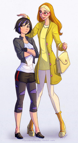 GoGo Tomago and Honey Lemon