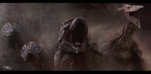 Godzilla, Mothra, and Rodan Reboot