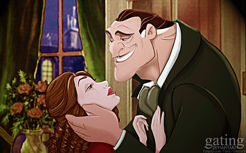 disney crossover wallpaper entitled Gone With the Wind - disney Version