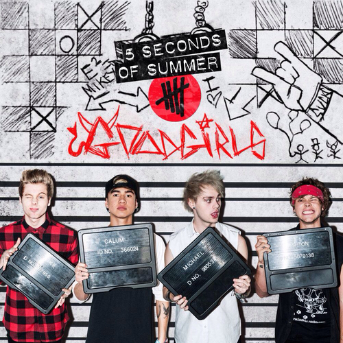 5 Seconds of Summer wallpaper entitled Good Girls - Single cover