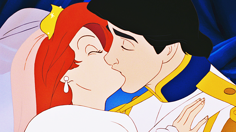 Princess Ariel And Prince Eric Disney