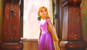 HD Blu-Ray ディズニー Princess Screencaps - Pascal & Princess Rapunzel