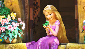 HD Blu-Ray डिज़्नी Princess Screencaps - Pascal & Princess Rapunzel