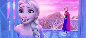 HD Blu-Ray ডিজনি Princess Screencaps - কুইন Elsa & Princess Anna