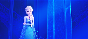 HD Blu-Ray ডিজনি Princess Screencaps - কুইন Elsa