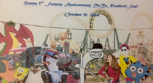 Happy 3rd Fanpop Anniversary DrBsNumber1Fan!