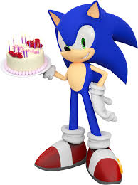 刺猬索尼克 壁纸 called Happy Birthday From Sonic!