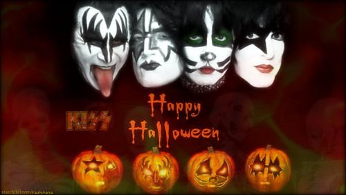 KISS wallpaper called Happy Halloween