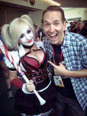 Harley Quinn Cosplay oleh Jessica Nigri