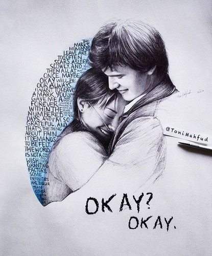 Fotky Hazel E Gus A Culpa: The Fault In Our Stars Images Hazel And Gus Wallpaper And
