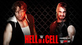 Hell in a Cell - Dean Ambrose vs Seth Rollins