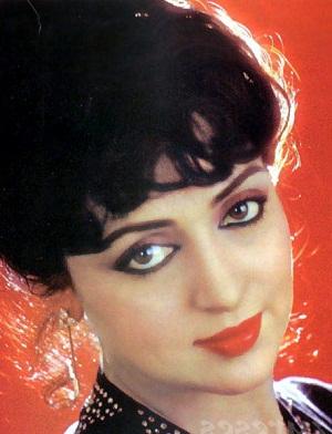 Photoshop wallpaper entitled Hema Malini