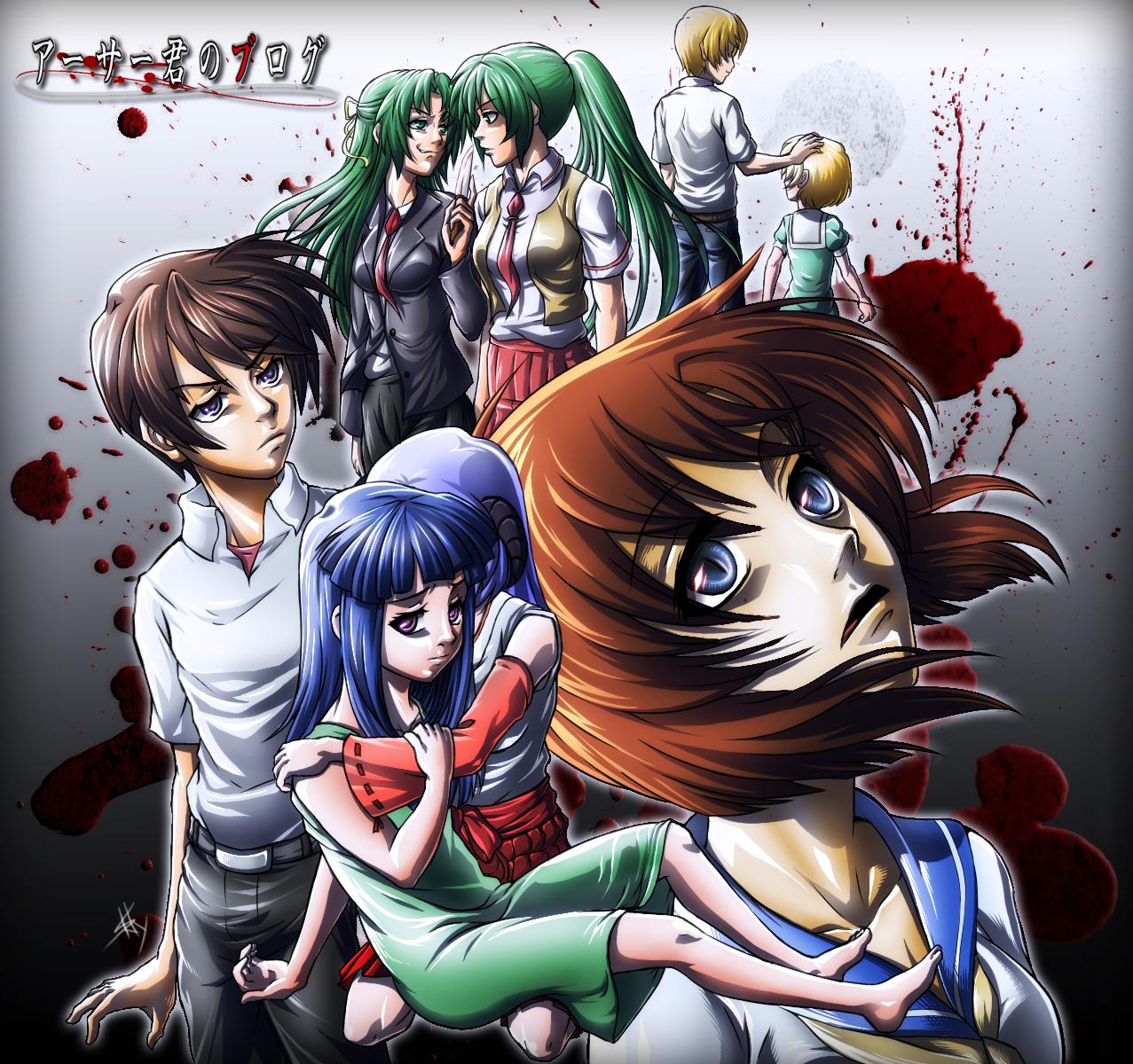 Higurashi No Naku Koro Ni Fan Cover Higurashi No Naku Koro Ni Fan Art 37692296 Fanpop
