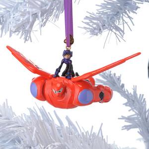 Hiro and Baymax Weihnachten Ornament