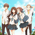 Hyouka - anime fan art