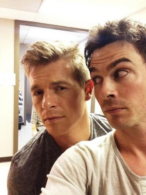 Ian and Rick Cosnett