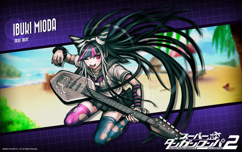 Ibuki Mioda wolpeyper with anime called Ibuki Mioda