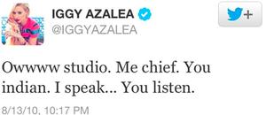 Iggy azalea Racists Tweets