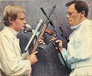 Illya Kuryakin and Napoleon Solo