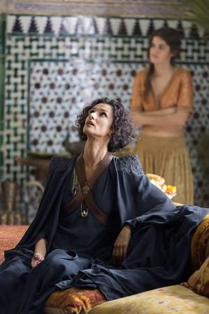 Indira Varma as Ellaria Sand in Game of Thrones season 5