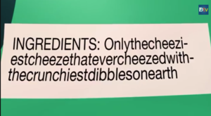 Ingredients in Cheezy Dibbles