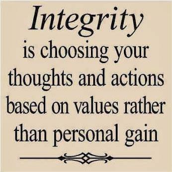 Nocturnal Mirage fond d'écran entitled Integrity...