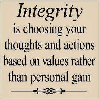Nocturnal Mirage fond d'écran titled Integrity...