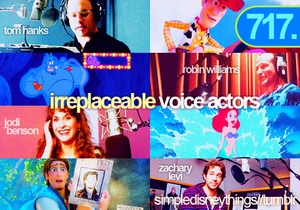 Irreplaceable voice actors