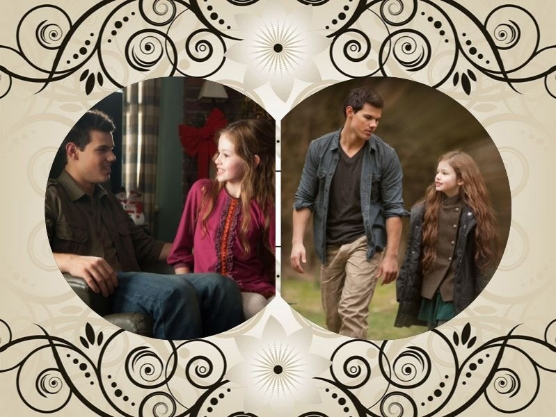 jacob black and renesmee cullen - 799×600