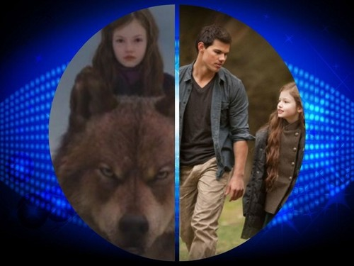 Jacob Black and Renesmee Cullen 壁纸 entitled Jacob and Nessie
