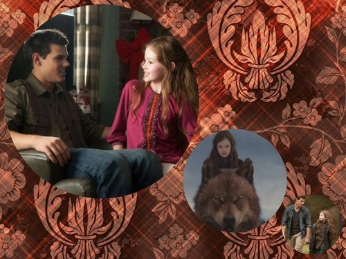 Jacob Black and Renesmee Cullen 壁纸 titled Jacob and Nessie