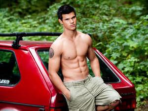 Jacob's red car