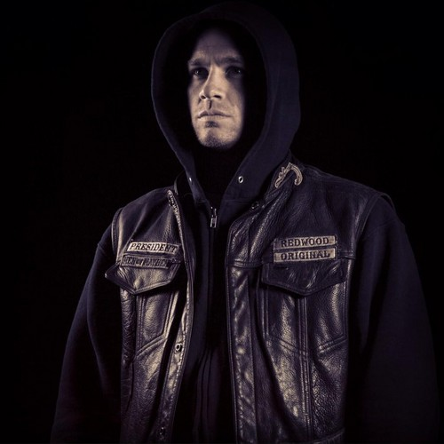 Sons Of Anarchy wallpaper containing a sweatshirt and a hood entitled Jax Teller