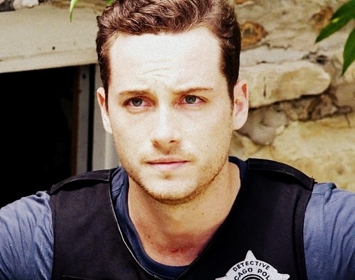 Chicago PD (TV Series) wallpaper probably containing a portrait entitled ghiandaia, jay Halstead