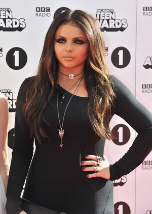 Jesy at the BBC Radio 1 Teen Awards 2014
