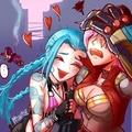 Jinx and Vi