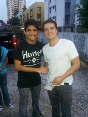 Josh Hutcherson in Panama City