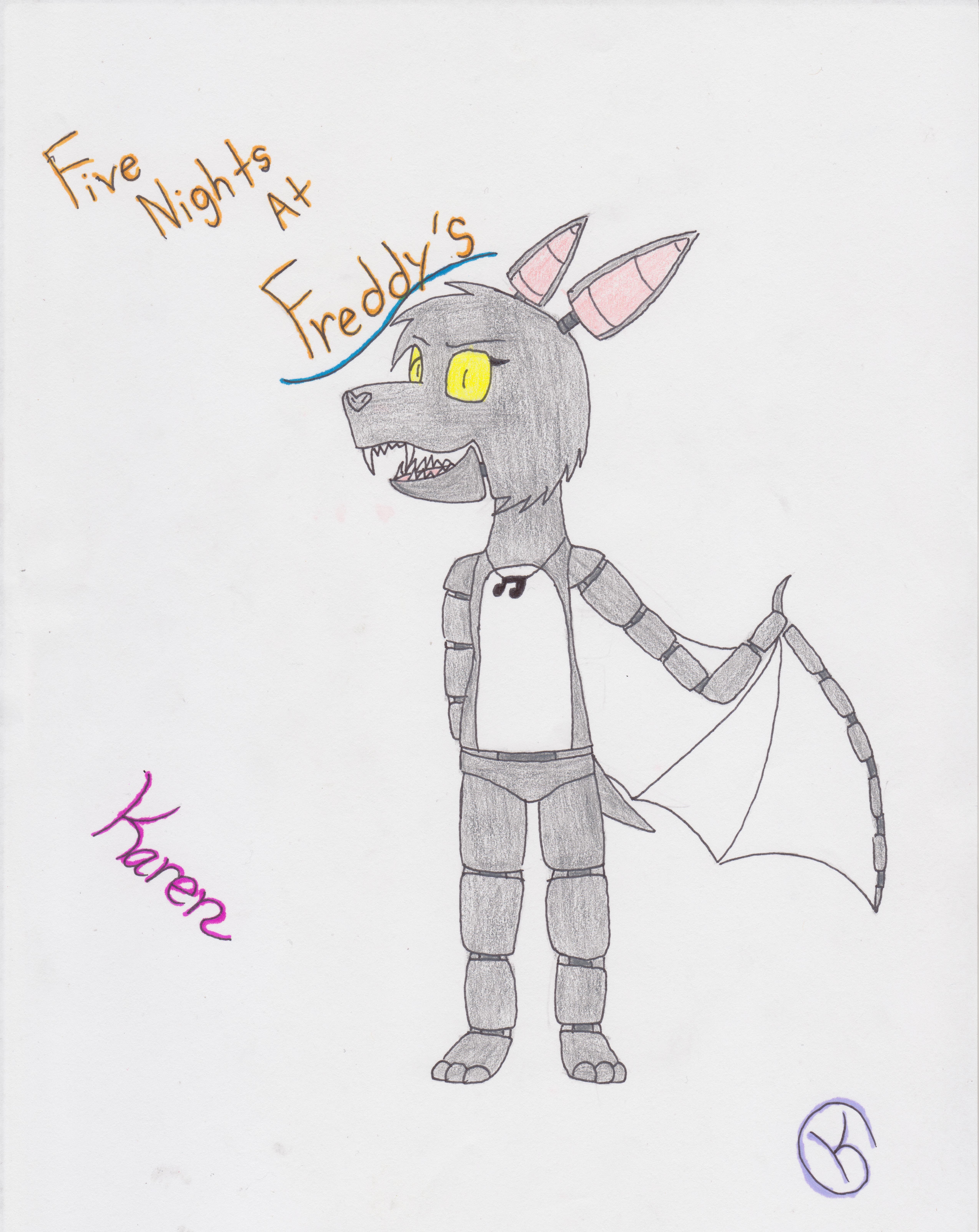 Karen the Vampire Bat