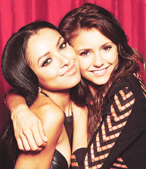 Kat Graham and Nina Dobrev