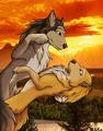 Kate and Humphrey Romance - alpha-and-omega fan art