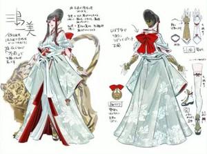 Kazumi Mishima | Concept Art door Mari Shimazaki