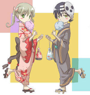 Kid and Maka