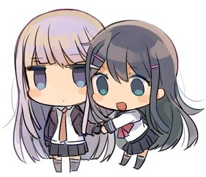 Kirigiri and Maizono