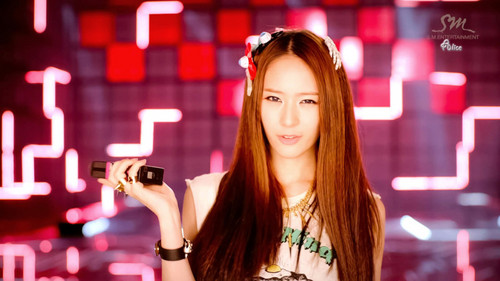 Krystal Jung 바탕화면 entitled Krystal - Electric Shock