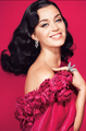 Lady In Red: Katy Perry - Harper's Bazaar